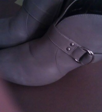 Botines grises talla 38