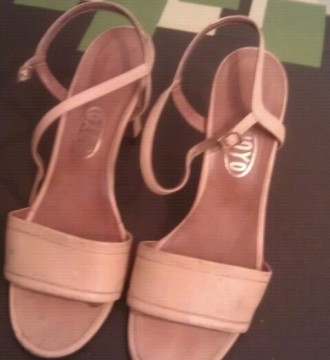 sandalias de verano talla 38 beig
