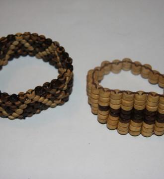 pulsera de madera
