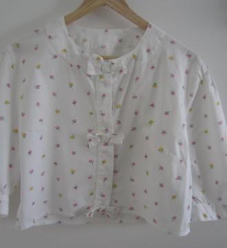 Blusa de los 80 con lacitos