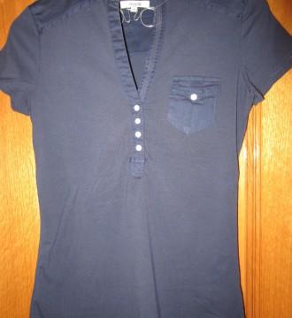 Camiseta azul marino corte ingles talla 36/38