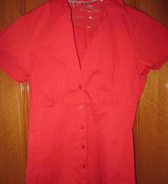 Camisa el corte ingles talla 38 color coral