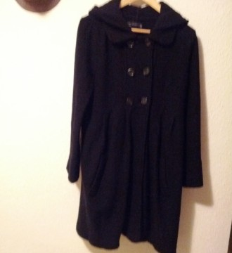 Abrigo de Zara Negro