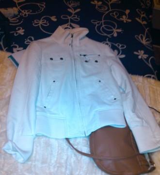 chaqueta imitacion cuero