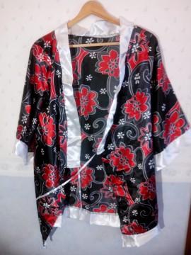 Kimono de raso