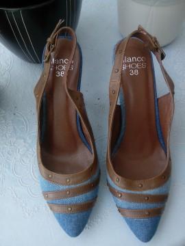 Zapatos denim