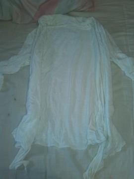 chaqueta blanca finita