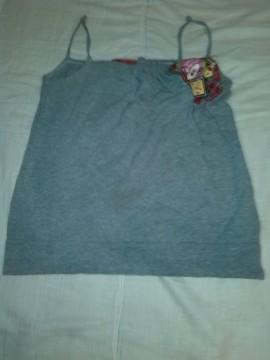 camiseta gris xs