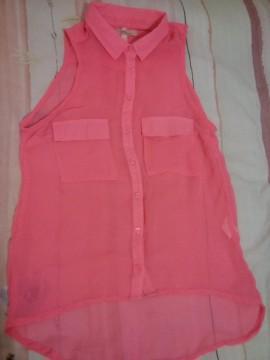 Camisa rosa bershka