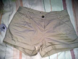 Pantalón corto marrón