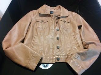 chaqueta marron