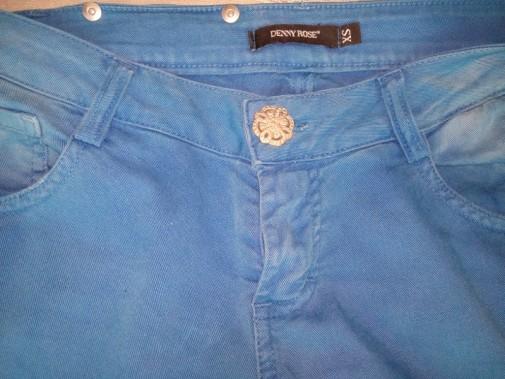 Pantalón pitillo azul Denny Rose