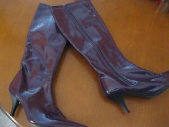 Botas violeta¡