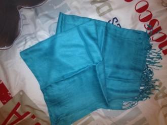 Fulard turquesa