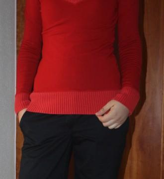 Jersey Bershka rojo