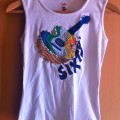 camiseta miss sixty guitarra