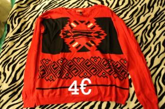 Jersey fino rojo