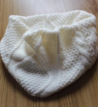 Bufanda/cuello en crudo