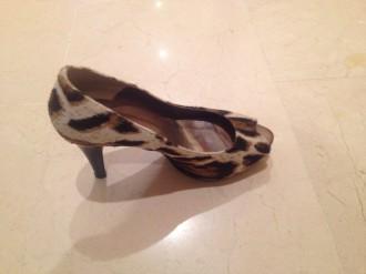 zapatos en piel de la marca melanie