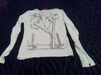 camiseta de manga larga levi´s