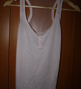 Camiseta espalda transparente