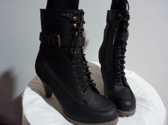Botas negras talla 39