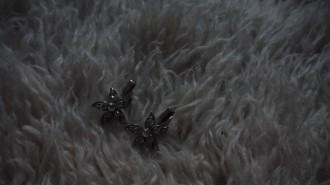 horquillas plateadas en forma de estrella