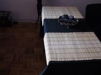 manteles grandes de bambu