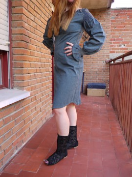 vestido vaquero pepe jeans