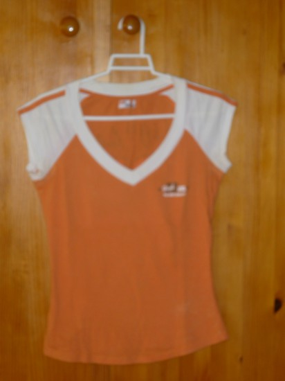 Camiseta naranja, Talla M, Bershka