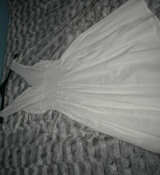 vestido blanco H&M