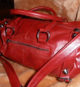 Bolso rojo BSK
