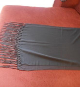 Foulard negro de fiesta