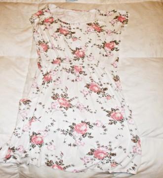 vestido de flores.