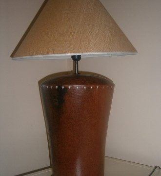 Lámparas base cerámica