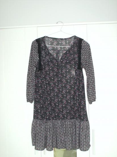 Vestido blusón de Mango, talla M. Ideal con mallas