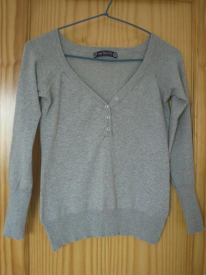 Jersey gris, talla M