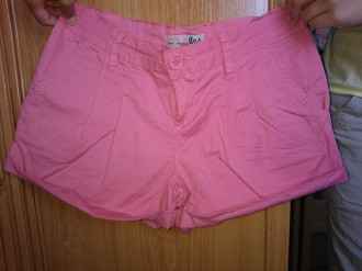 Short – pantalón corto de Inside. Rosa. Talla 38.