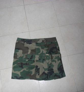 falda camuflaje