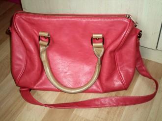 Bolso bowling rosa bicolor de BLANCO SUITE