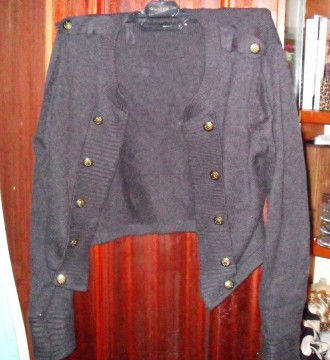 chaqueta gris Sfera