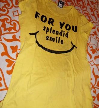 camisa  usada 3 veces,amarilla