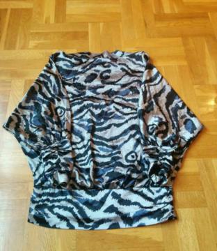 Camisa raso Animal Print