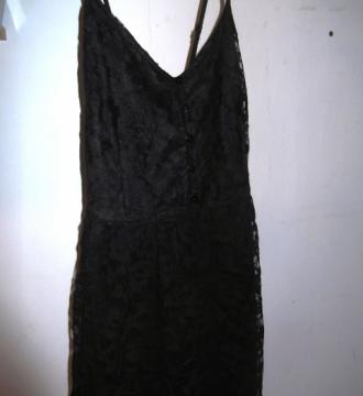Vestido de verano negro