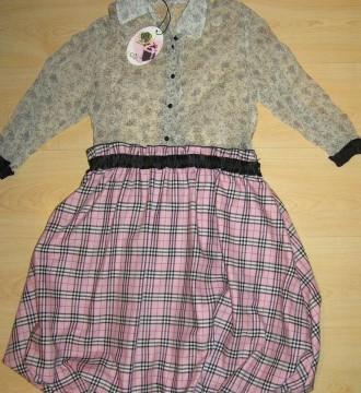 Vestido bicolor Fornarina