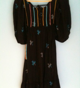 Vestido hippie Zara T. M