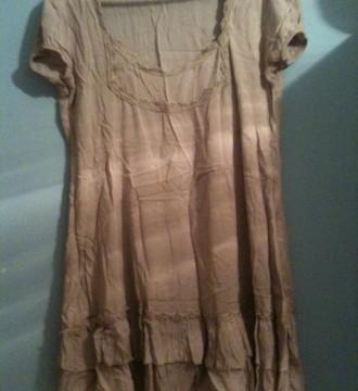 Camiseta-vestido hippie nude