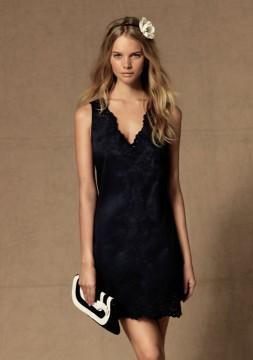 VENDO Vestido azul marino 15€
