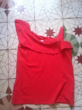 Camiseta roja original