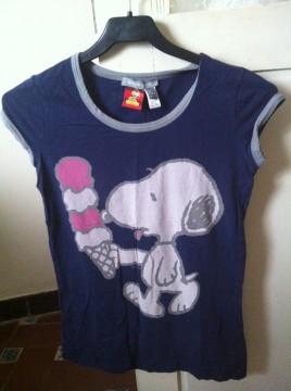 Camiseta de mango.